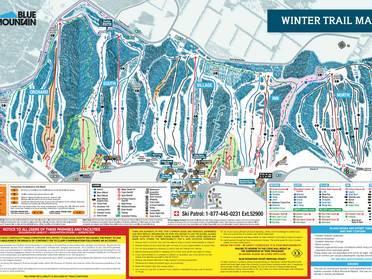 Map Of Ski Resorts In Ontario Canada Ski resorts Ontario   skiing in Ontario