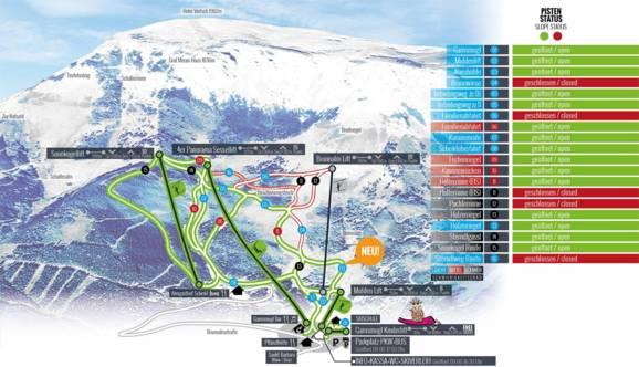 Ski resort Brunnalm/Hohe Veitsch Veitsch (St. Barbara im
