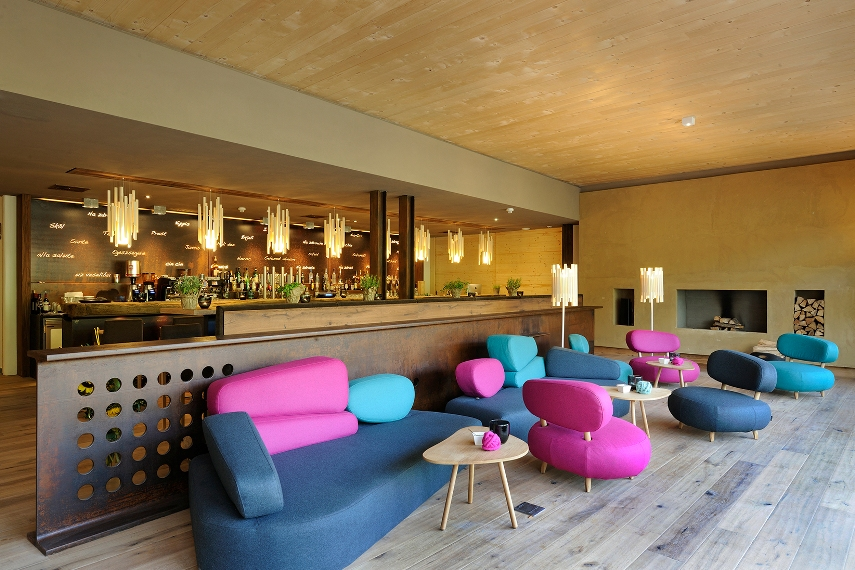 Holzhotel forsthofalm in leogang for Design hotel leogang
