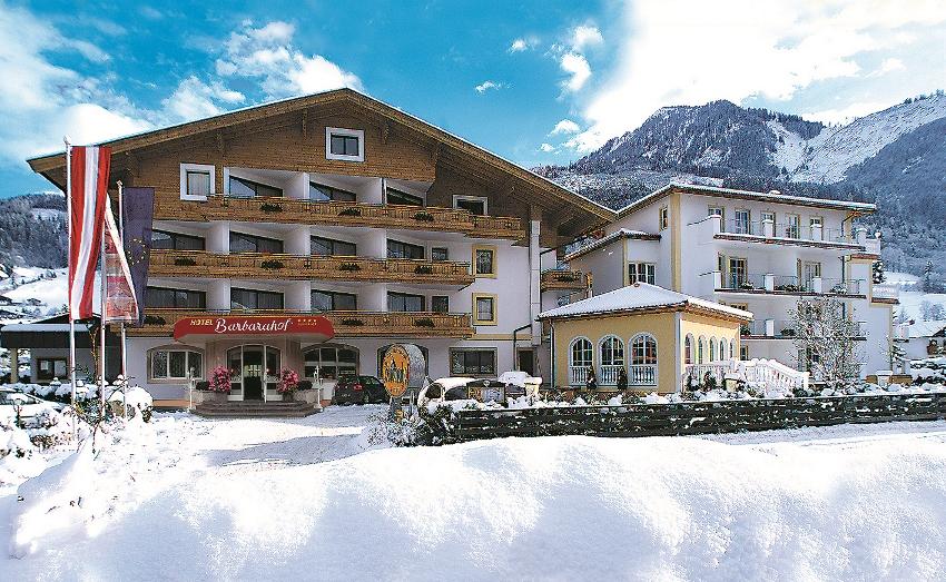 Alpen wellness hotel barbarahof in kaprun for Wellnesshotel zell am see