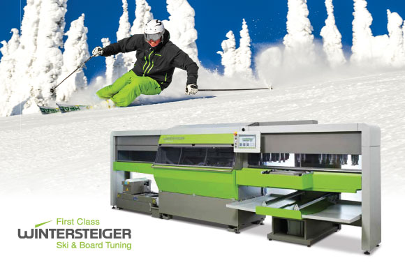 ski tuning machine