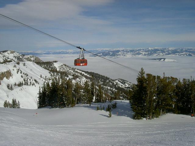 resorts jackson hole snow report