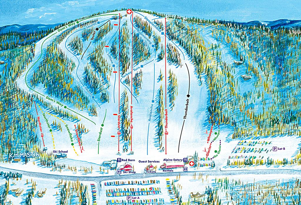 Trail Map Mt Southington