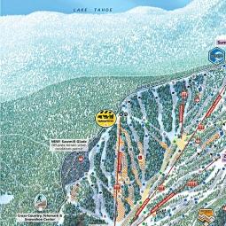 Northstar Ski Resort Map